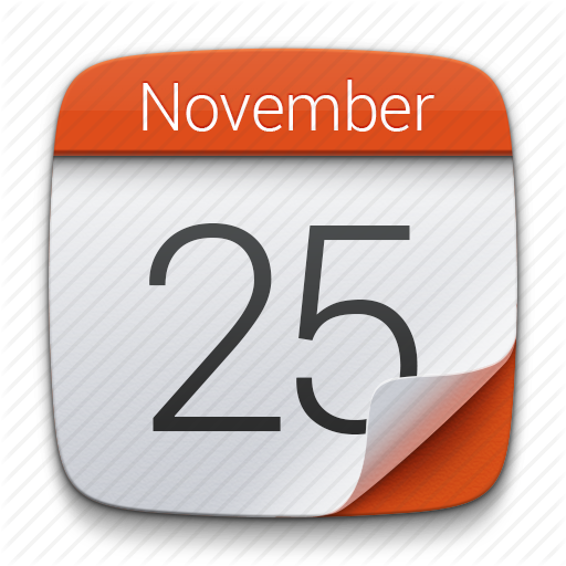 Calendar Icons Button