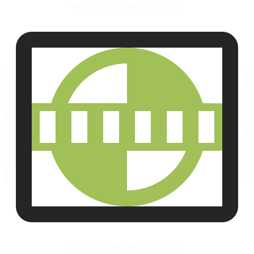 Test Card Icon Iconexperience