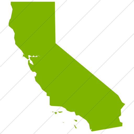 Simple Green Us States California Icon