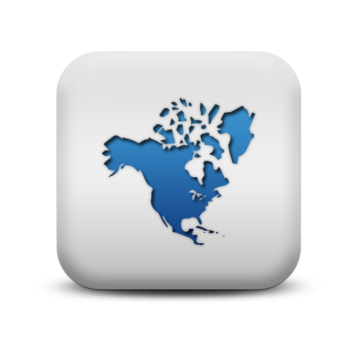 Blue And White Square Icon Map Images