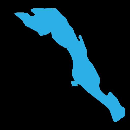 Baja California Sur State Map