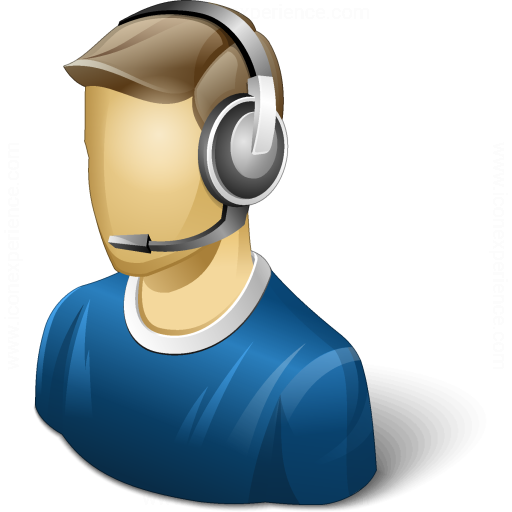 Iconexperience V Collection User Headset Icon