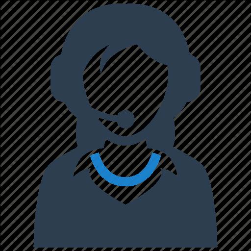 Call, Center, Consultant, Customer Support Icon