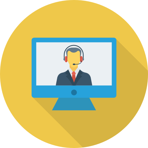 Video Call Icon Banking And Finance Dinosoftlabs