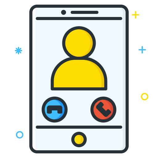 Call Icon Job Seeker Iconset Inipagi Studio