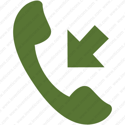 Download Received,incoming Call,received Call,call Icon Inventicons