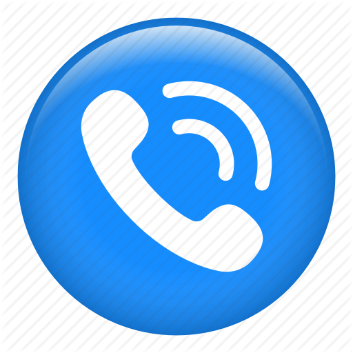 Phone Call Icon Blue Annagorecka Eu