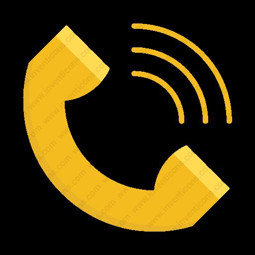 Download Phone,call Icon Inventicons