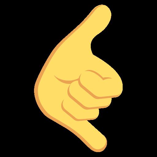 Call Me Hand Emoji Emoticon Vector Icon Free Download Vector