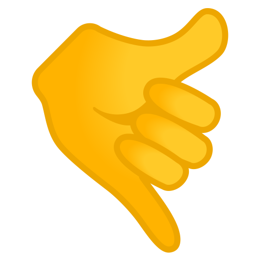 Call Me Hand Icon Noto Emoji People Bodyparts Iconset Google