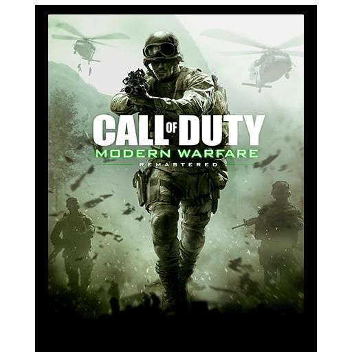 Icon Call Of Duty Modern Warfare Remastered
