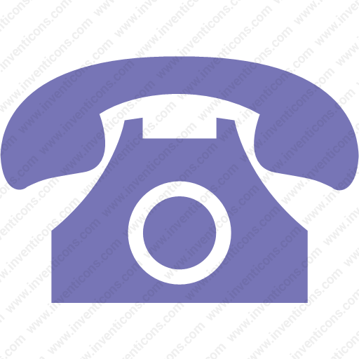 Download Landline,phone,telephone,call,contact Icon Inventicons