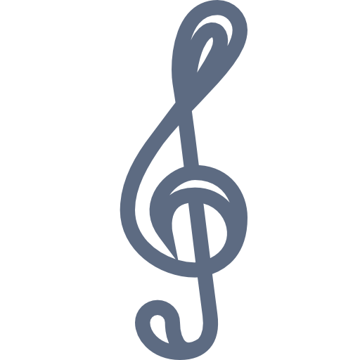Treble, Clef, Musical, Instrument Icon Free Of Musical