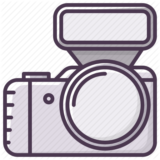 Camera, Device, Electronics, Flash, Photographer, Appliances Icon