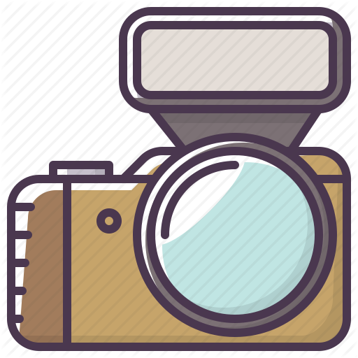 Camera, Flash, Electronics, Photographer, Device, Appliances Icon