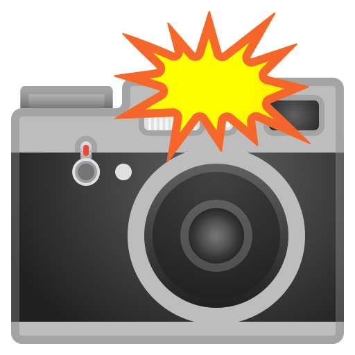 Camera With Flash Icon Noto Emoji Objects Iconset Google