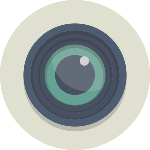 Camera, Lens, Photography Icon