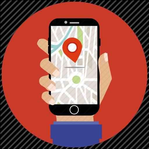 Flat Icon, Gps, Location, Map, Marker, Navigation, Seo Icon