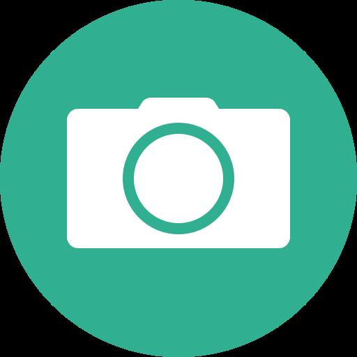 Photographer, Aim, Multimedia Option, Multimedia, Square, Focus Icon