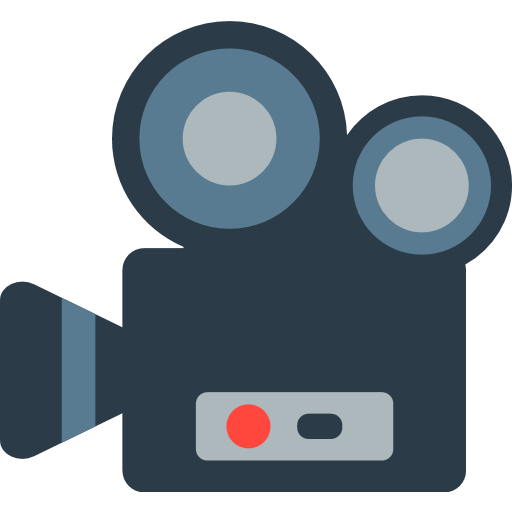 Movie Camera Emoji For Facebook, Email Sms Id Emoji