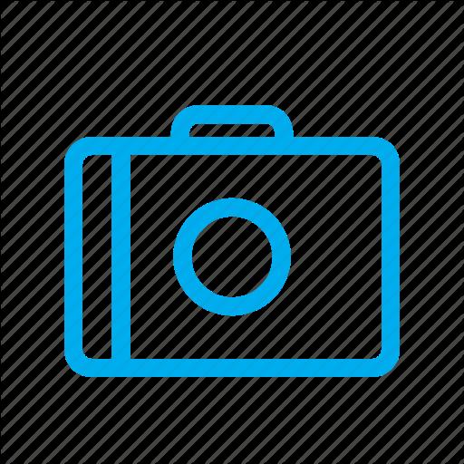 Camera, Line, Ui Icon