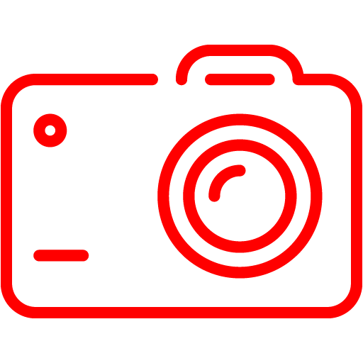 Red Camera Icon