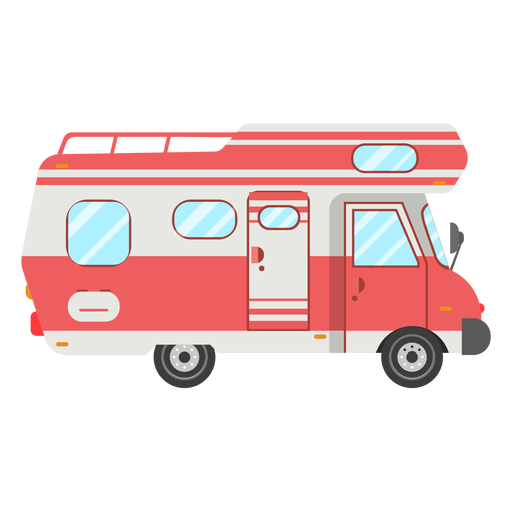 Camper Vehicle Vector