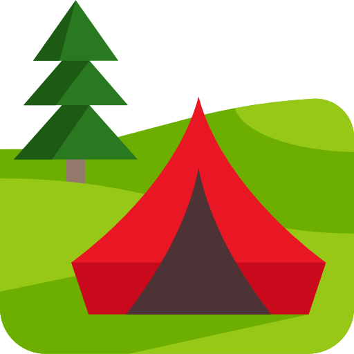 Camping Icon Travel And Places Emoticons Freepik