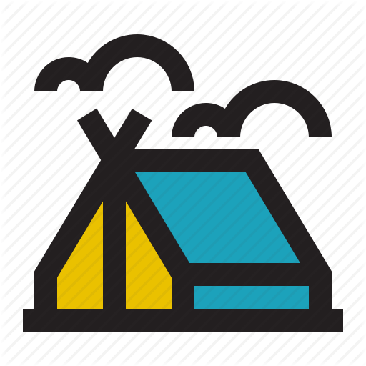 Adventure, C Camping, Outdoor, Tent, Travel Icon