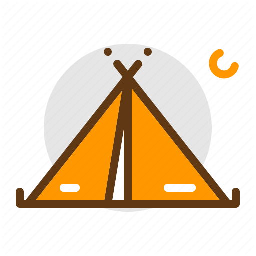 Adventure, C Camping, Scout, Tent, Travel Icon