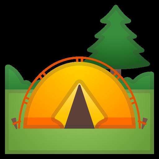Camping Icon Noto Emoji Travel Places Iconset Google