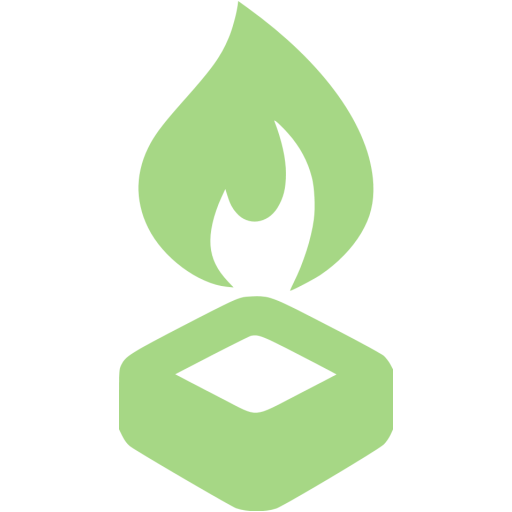 Guacamole Green Hex Burner Icon