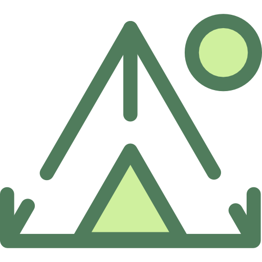 Travel, Nature, Camping Icon