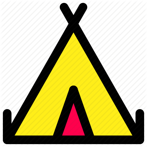 Basec C Camping, Tent Icon