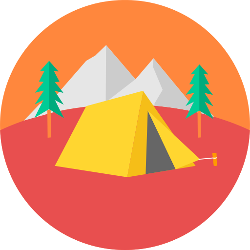 Camping Tent Png Icon