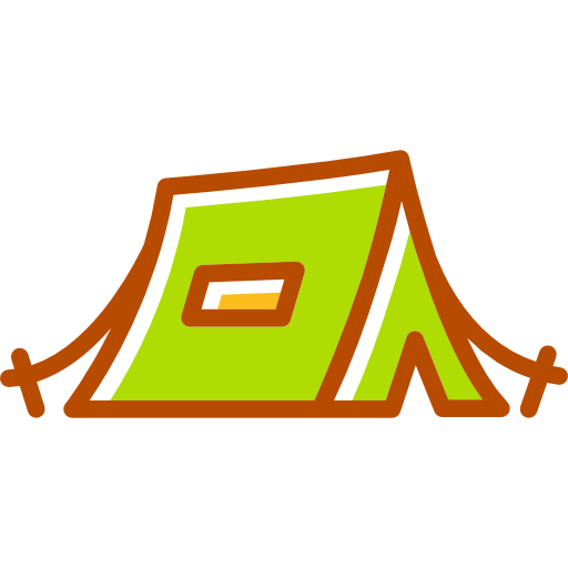 Shelter, Camping, Tent Icon
