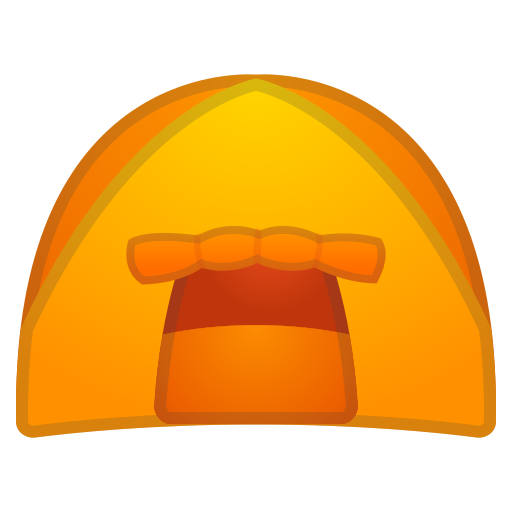 Tent Icon Free Of Noto Emoji Travel Places Icons