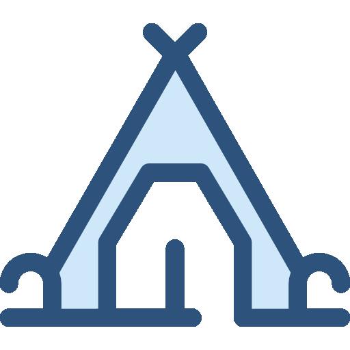 Travel Tent Icon