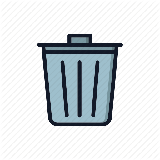 Basket, Clean, Delete, Junk, Recycle, Remove, Trash Can Icon