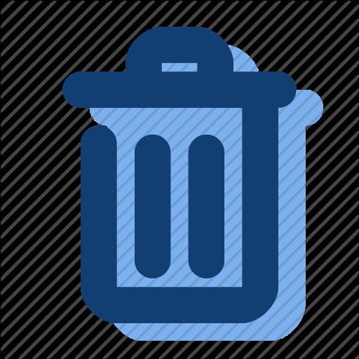 Delete, Empty, Trash, Trash Can Icon