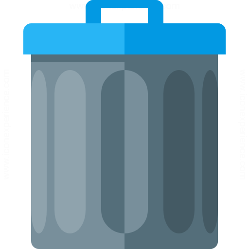 Iconexperience G Collection Garbage Can Icon