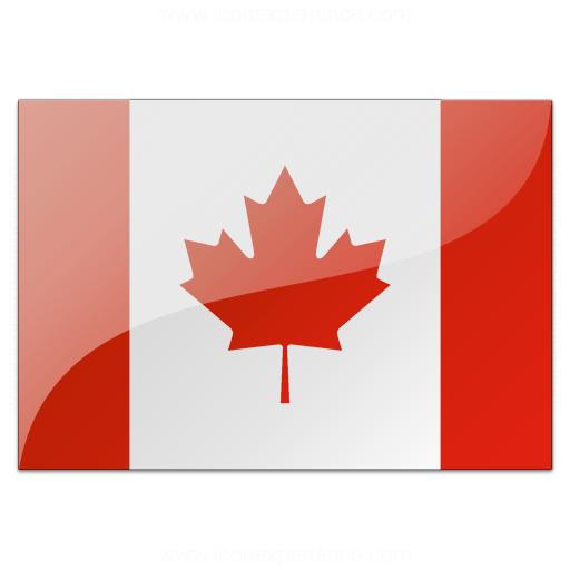 Iconexperience V Collection Flag Canada Icon