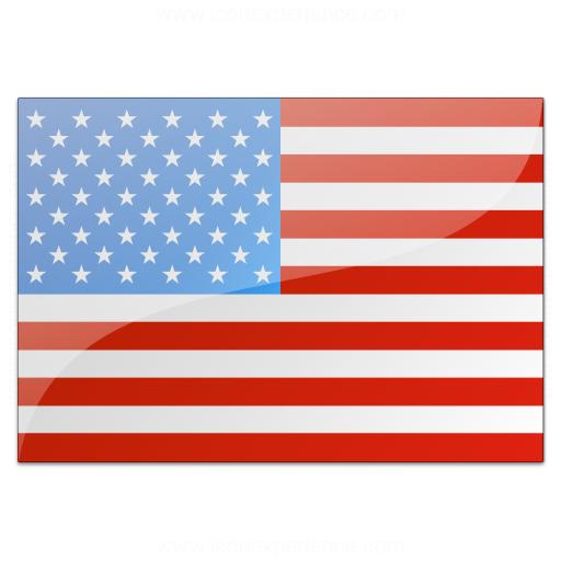 Iconexperience V Collection Flag Usa Icon