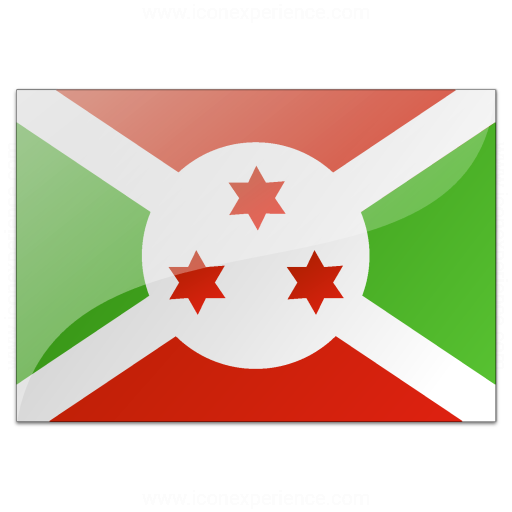 Iconexperience V Collection Flag Burundi Icon