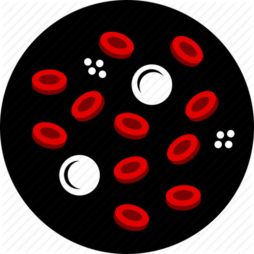 Blood, Cancer, Cell, Leukemia, Red Icon