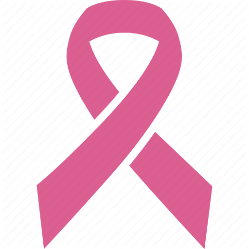 Awareness, Breast, Cancer, Pink, Ribbon Icon