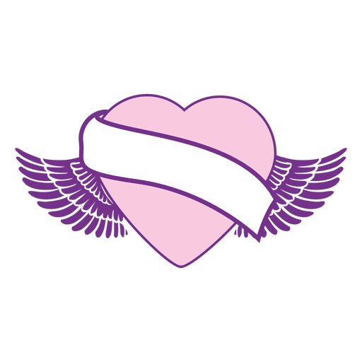 Collection Of Free Heart Ribbon Download On Ui Ex