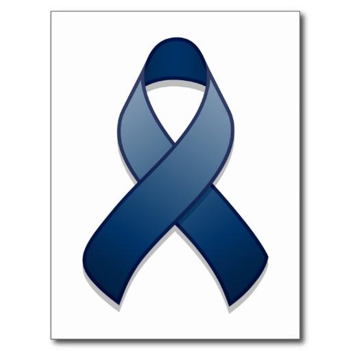 Colon Cancer Ribbon Clip Art