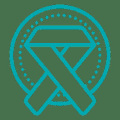 Medical Ribbon Icon