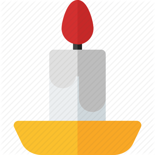 Candle, Candle Icon, Fire, Fire Icon, Halloween, Halloween Icon Icon